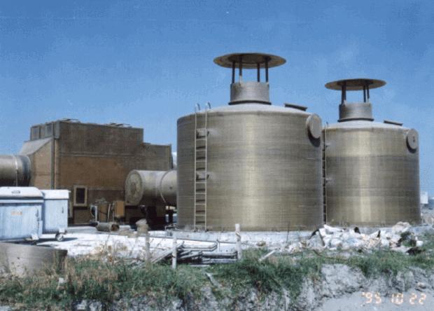Sistema de torres de absorción