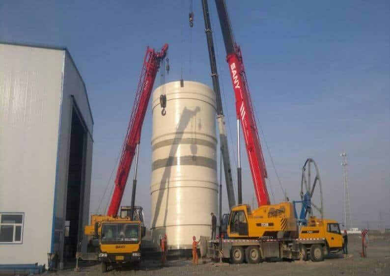 FRP Chimney for Power Station